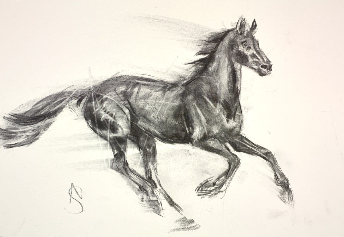 Spirit by april shepherd -  sized 20x14 inches. Available from Whitewall Galleries